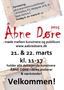 2015 A4 flyer